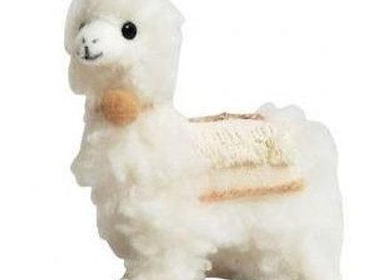 Llama Hanging Decoration - White