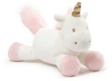 Soft Unicorn with Rattle 18cm