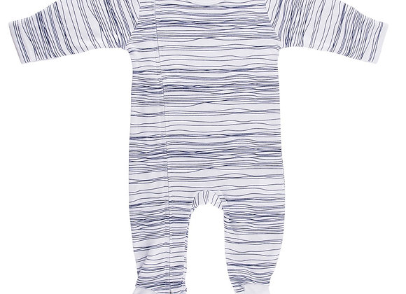 Emotion & Kids - Navy Scribble Zipped Outfit