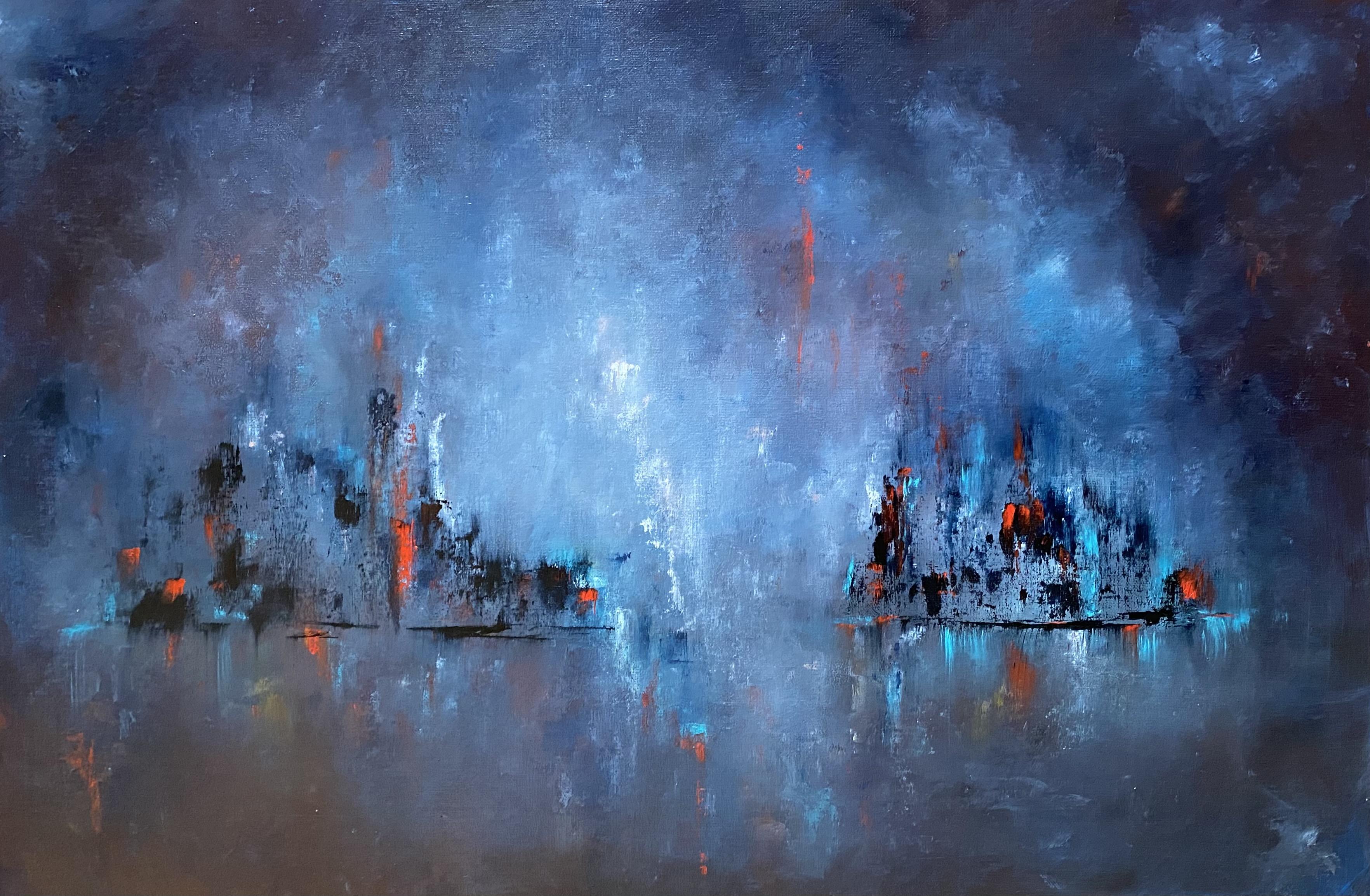 rhapsody in blue 70x50