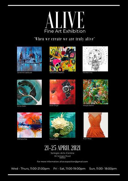 ALIVE fine art exhibition singapore