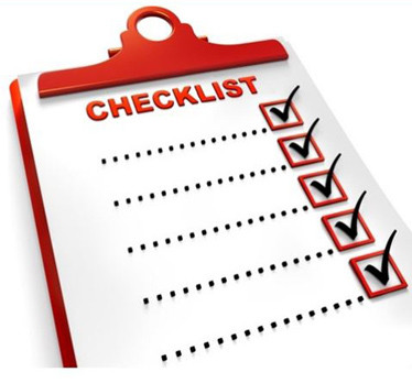 New Release Checklist