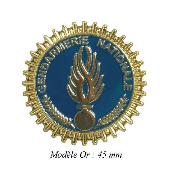 MEDAILLE GENDARMERIE MODELE OR- DCA