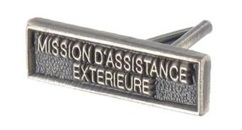 AGRAFE RÉDUCTION MISSIONS D'ASSISTANCE EXTÉRIEURE