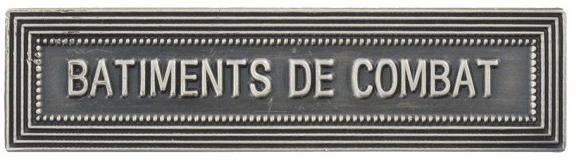 AGRAFE ORDONNANCE BATIMENTS DE COMBAT