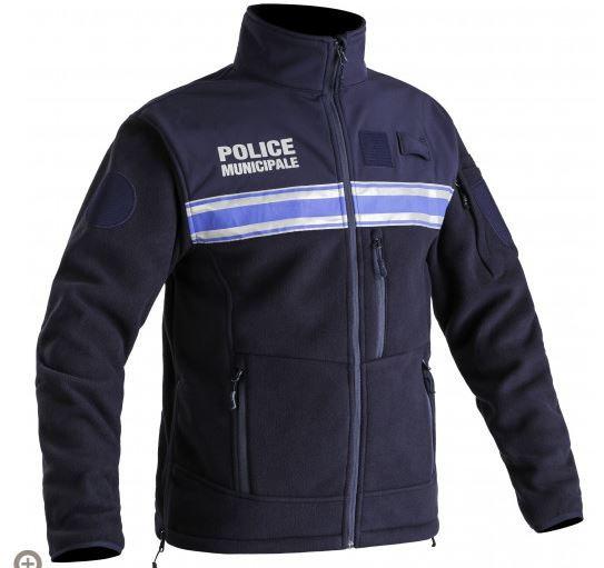 BLOUSON POLAIRE POLICE MUNICIPALE PM ONE - TOE