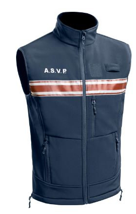 GILET SOFTSHELL SANS MANCHES ASVP PM ONE - TOE