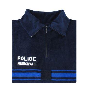 CHEMISE F1 POLAIRE POLICE MUNICIPALE BANDES GITANE - DMB