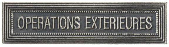 AGRAFE ORDONNANCE OPÉRATIONS EXTÉRIEURES