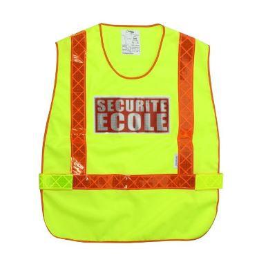 CHASUBLE SECURITE ECOLE HAUTE VISIBILITE