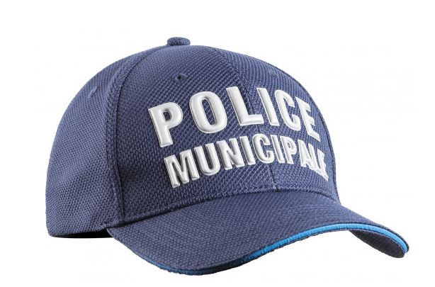 CASQUETTE STRETCH FIT ETE POLICE MUNICIPALE - TOE