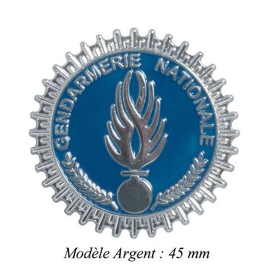 MEDAILLE GENDARMERIE MODELE ARGENT- DCA