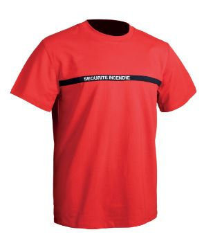 TEE SHIRT SECU ONE SECURITE INCENDIE - TOE
