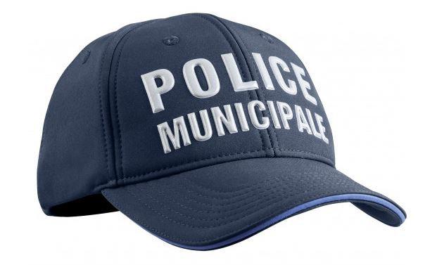 CASQUETTE STRETCH FIT HIVER POLICE MUNICIPALE - TOE