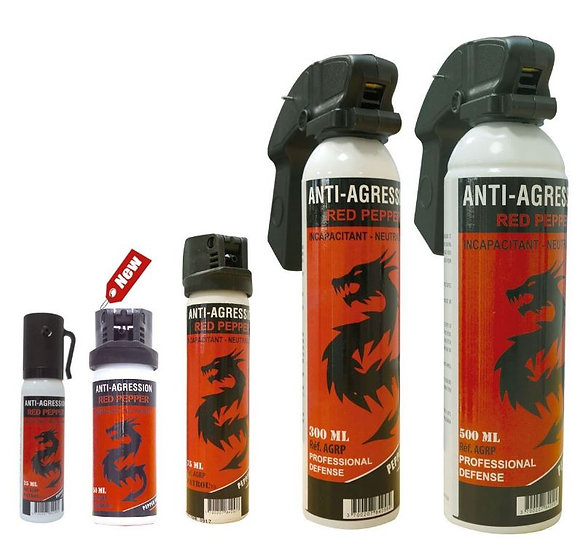 AEROSOL ANTI AGRESSION RED PEPER - 50 ML