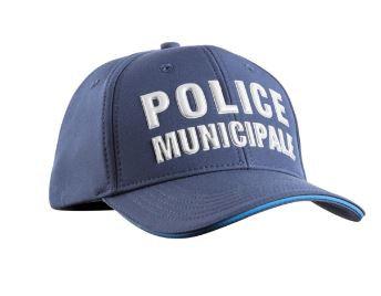 CASQUETTE STRETCH FIT POLICE MUNICIPALE - TOE
