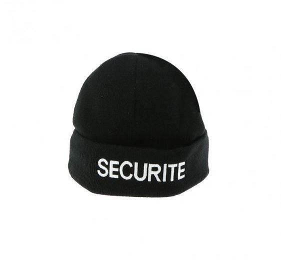 BONNET NOIR SECURITE - DMB