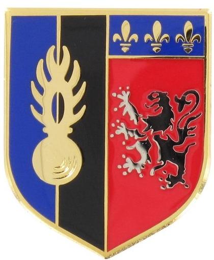 ÉCU MÉTAL 5ème LÉGION