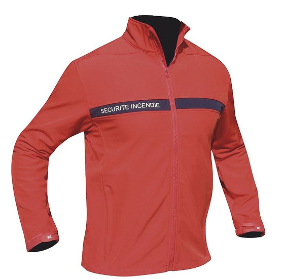 BLOUSON SOFTSHELL SECURITE INCENDIE 3 COUCHES - DCA