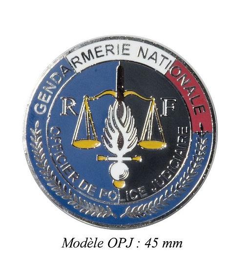 MEDAILLE GENDARMERIE MODELE OPJ- DCA