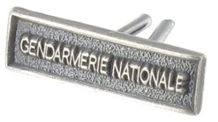 AGRAFE RÉDUCTION GENDARMERIE NATIONALE