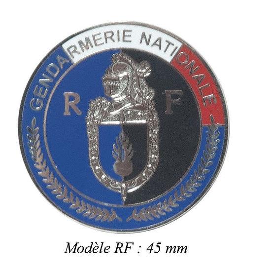 MEDAILLE GENDARMERIE MODELE R.F- DCA