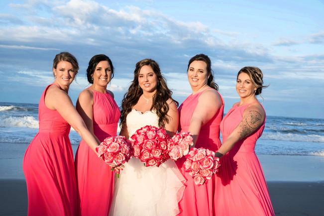 Pink Beach Wedding