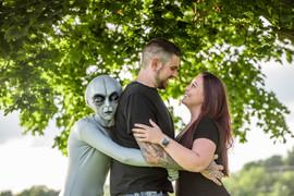 Alien Photoshoot
