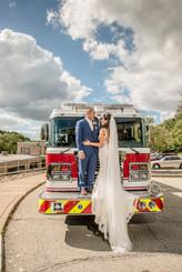 Fireman Wedding