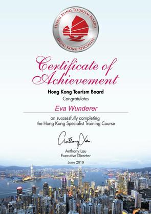 Hongkong Zertifi