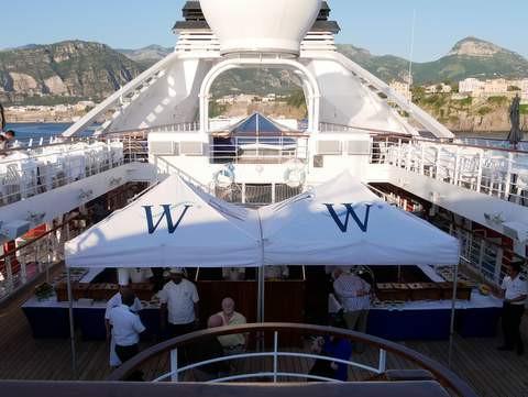 "Windstar Cruises ""Deck BBQ"""