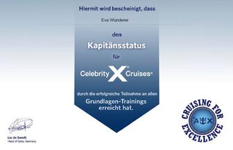 Celebrity Cruises Diplom