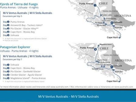 Expeditionskreuzfahrten Patagonien