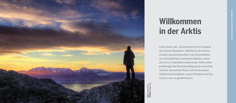 AECO Richtlinien für Besucher der Arktis
