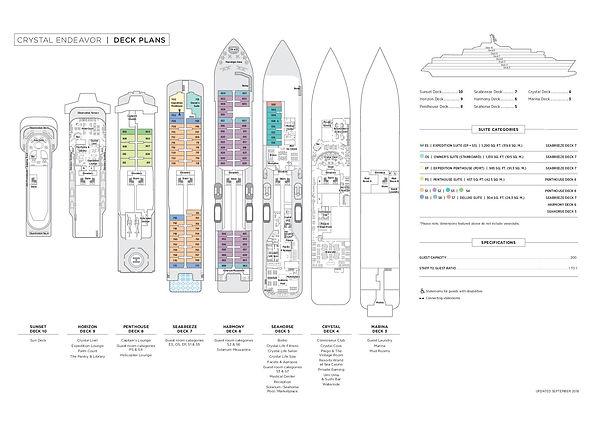 CRYSTAL ENDEAVOR Deckplan