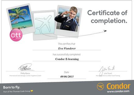 Condor Zertifikat