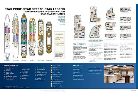 STAR BREEZE + STAR PRIDE + STAR LEGEND Deckplan