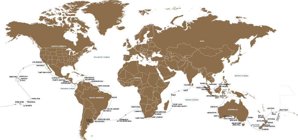 Regent Kreuzfahrten Weltreise