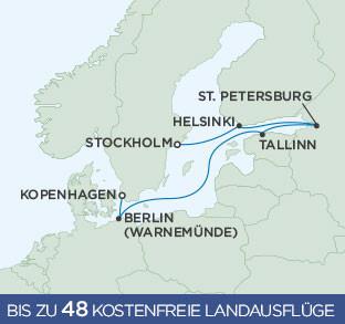 Regent Kreuzfahrten Ostsee