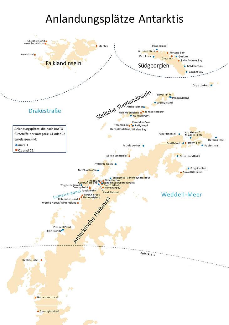 Kreuzfahrten Antarktis