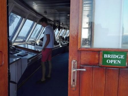 Windstar Segelkreuzfahrten Open Bridge Policy
