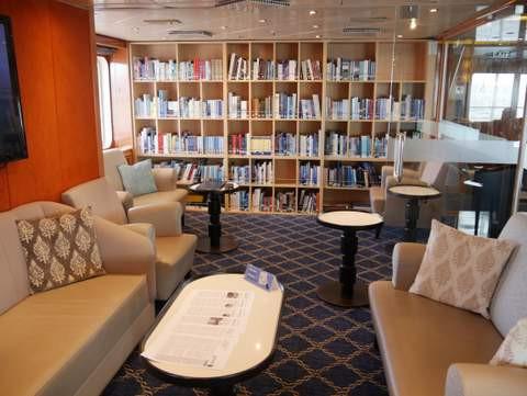 Poseidon Expeditionskreuzfahrten Bibliothek