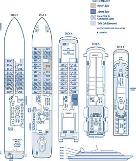 SeaDream Deckplan
