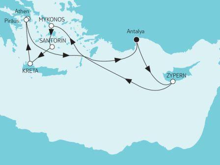 TUI Cruises Mein Schiff 2