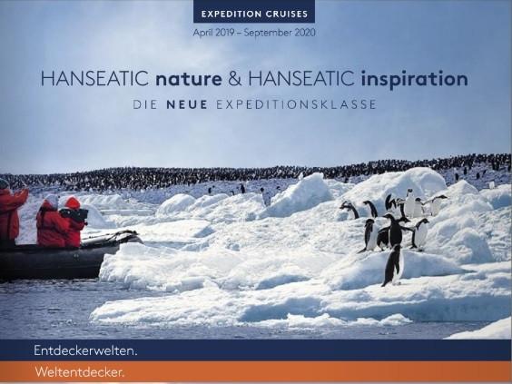 HANSEATIC NATURE und HANSEATIC INSPIRATION