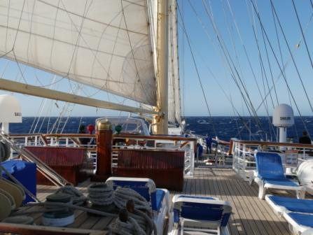 Star Clippers STAR FLYER Deck