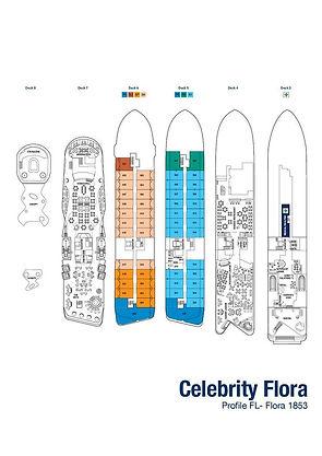 CELEBRITY FLORA Deckplan