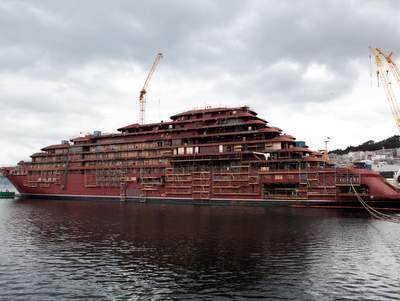 Ritz-Carlton Yacht EVRIMA