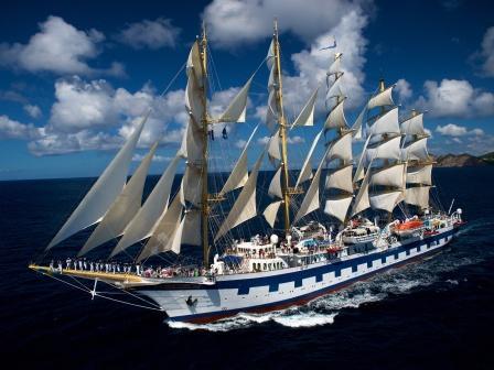 Star Clippers Segelkreuzfahrten mit Royal Clipper