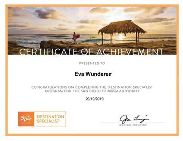 San Diego Zertifikat